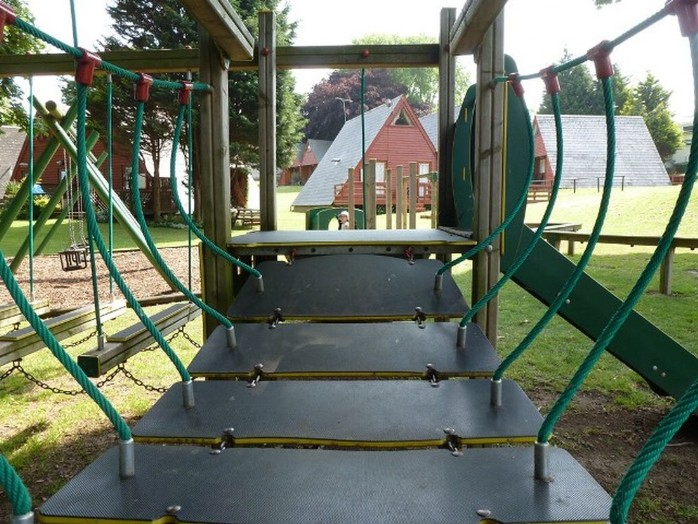 The bridge, Kingsdown Park playground